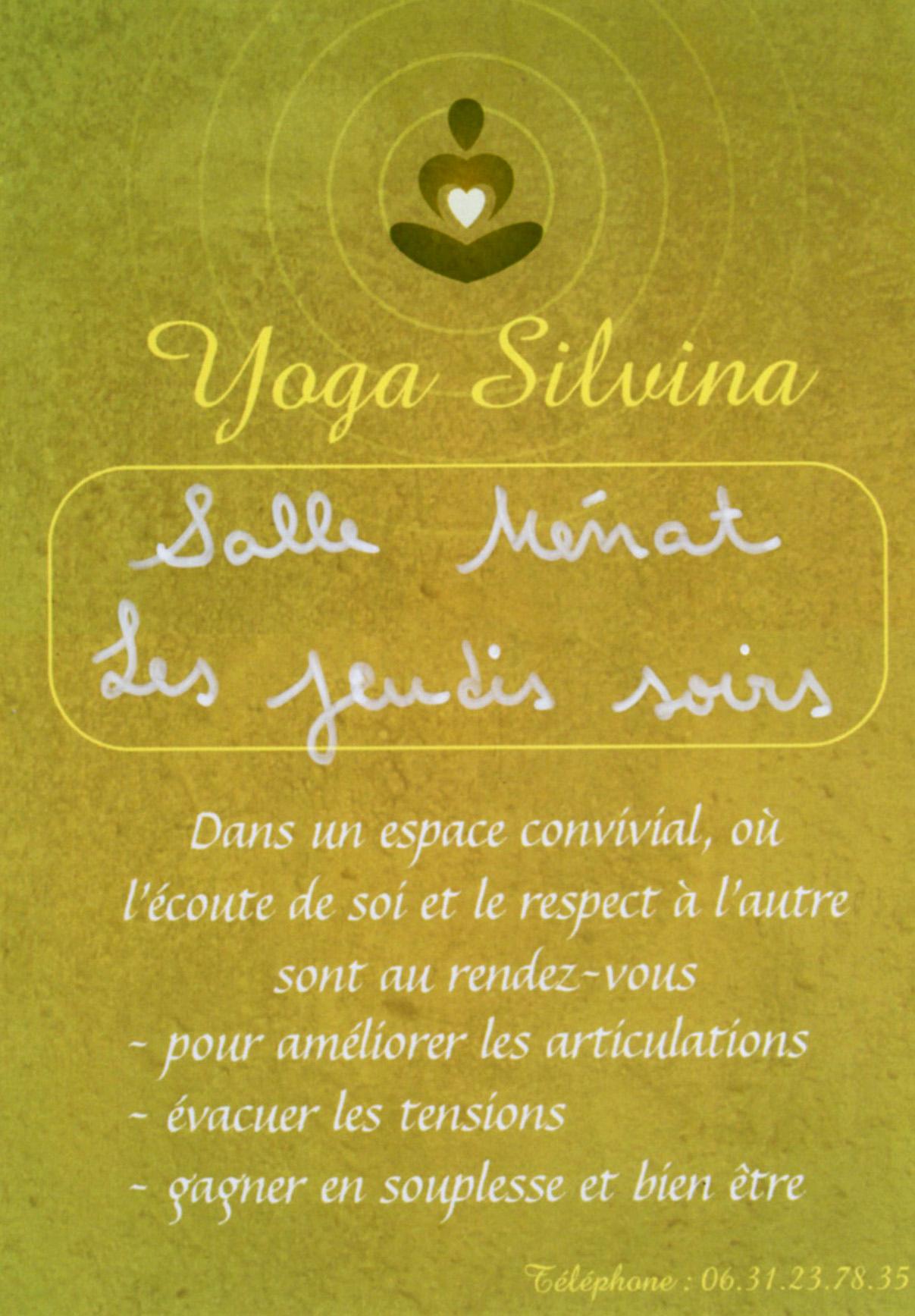 Aménager Une Salle De Yoga 03-09 : maslacq => reprise des cours de yoga