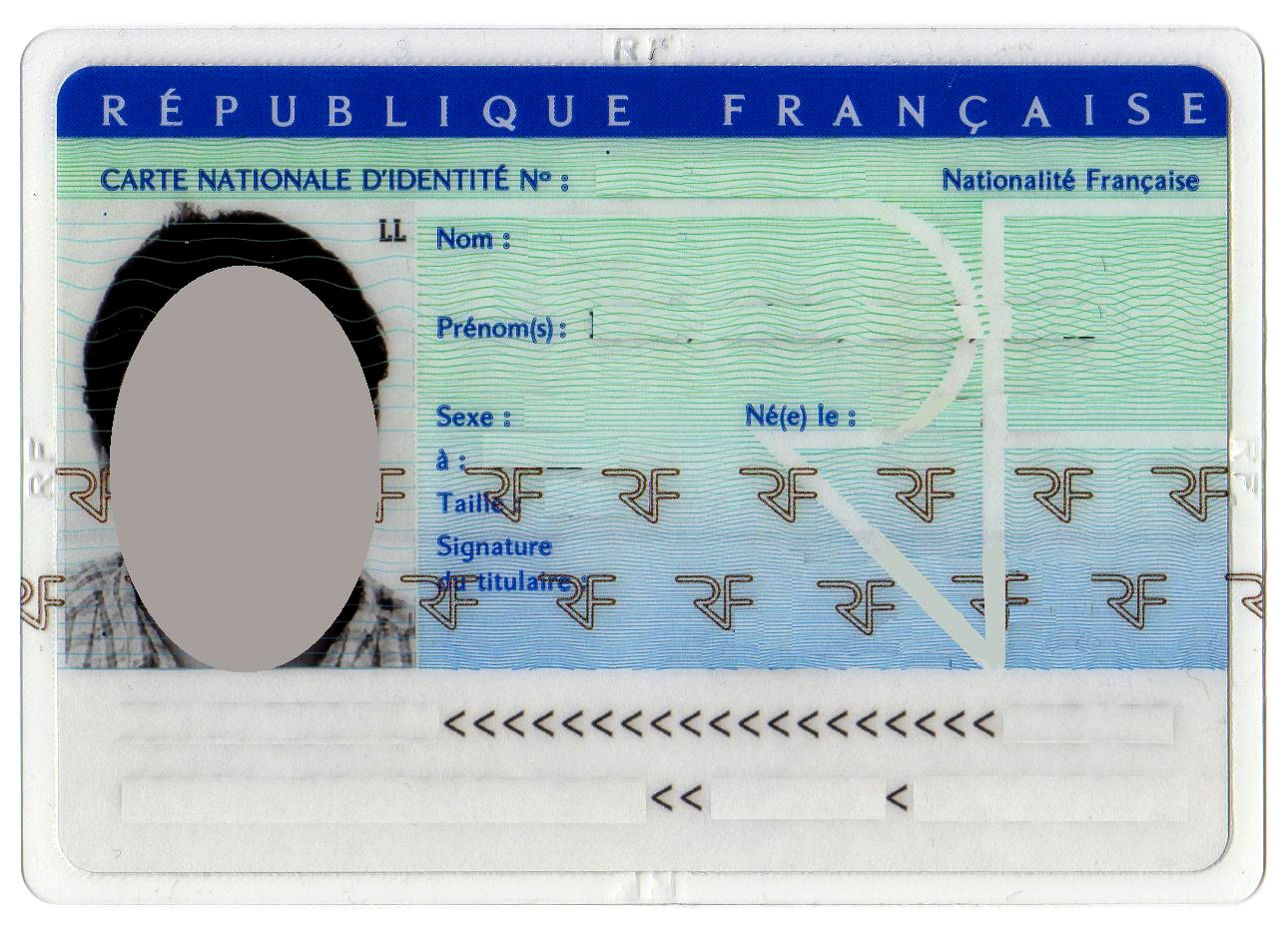 comment obtenir une carte d identité carte d'identité